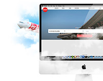 Air Asia Website Redesign
