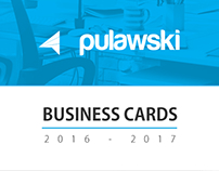 Business Cards 2016 - 2017