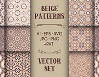 Beige Mosaic Patterns