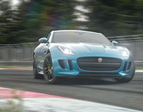 Jaguar F-Type - full CGi animation