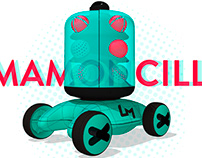 Mamoncillo. Cleaning robot service