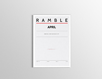 Ramble - April