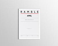 Ramble - April