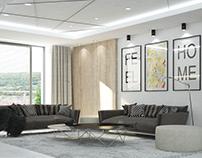 Interior of Belvedere Apartment