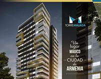 Visualización Arquitectónica 3D Torre Malaga