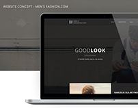Men's Fashion — Concept WWW