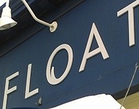 Float - facade letters