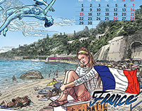 "Calendar ""Pasha Travel"" 2015"