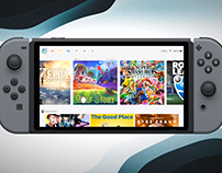 Nintendo Switch UI Concept