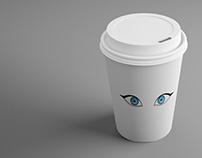 Just Megy Coffee Cup Mockup