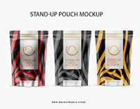 Snacks Bag Mockup(Freebie)