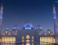 3D Model (Sheikh Zayed Mosque) Abu Dhabi