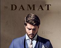 Damat SS15 Website Design