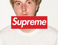 Supreme x Louis Vuitton Online Shop Concept