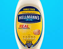 Hellmans Mockup - using my mayonnaise type