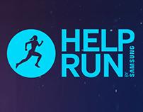 Help Run App creative concept