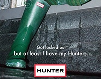 Hunter Fashion Ads