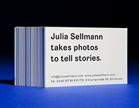 Visual Identity for Julia Sellmann Photography