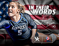 2016 Kentucky Volleyball Misc. Social Media
