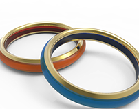 Chell - Wedding Ring Design