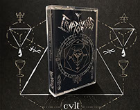 Cryptobiosis - Temple of Sloth Cassette Design