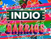 Etiquetas Indio. Edición Barrios