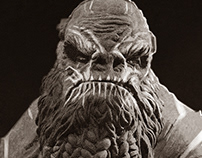 Atriox, traditional sculpture