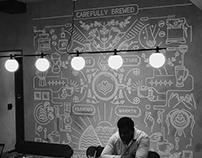 Third Wave Coffee Roasters Mural