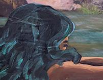 A Faun and a Mermaid