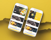 Food UI/UX design in Adobe Xd 2021