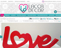 Lacca Decor - UI for a Web Store