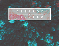 Destroy x Rebuild - Cyanotype/Infrared Experiment