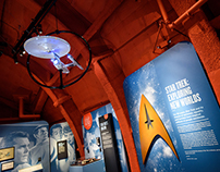 Star Trek: Exploring New Worlds Exhibit Graphics