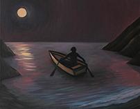 Départ au clair de lune