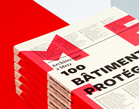 100 bâtiments protégés