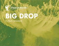 Pigeon River Big Drop Citrus Shandy Identity