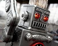 Tin Robot // CGI