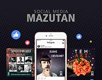 Social Media   MAZUTAN