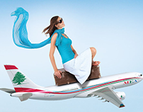 MEA Airlines - Digital Ads