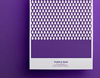 Purple Rain - Rebus Poster