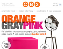 CB2: Email Designs
