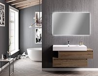 Arca Mobili Proxima bath room collection