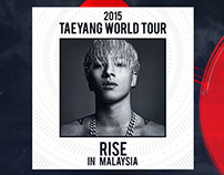 2015 TaeYang World Tour in Malaysia | Contest Page