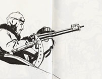 Sketchbook: World War II