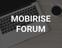 Mobirise Responsive Website Builder - FORUM!
