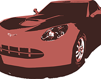 Corvette 3D Model