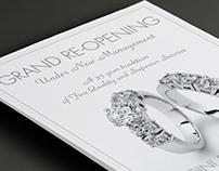 Cudini & Lucas Jewelers Ad Redesign