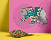 Digital Animal Illustrations