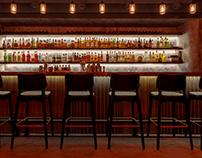 Meduza bar _ design by Anastasia Zemlianskaya