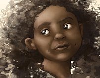 Retratos em pintura digital / Digital Portraits